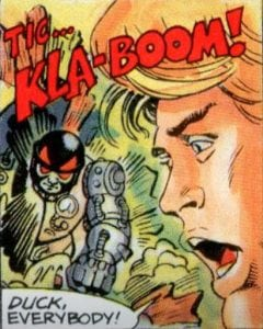 Blast Attak's appearance in the Masters of the Universe Mini Comic