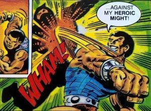 Clamp Champ as he appeared in the MOTU Mini Comics