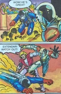 Dragstor as he appeared in the Masters of the Universe Mini Comic