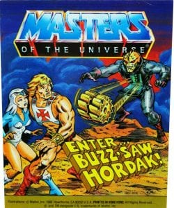 Enter Buzz Saw Hordak Masters of the Universe Mini Comic