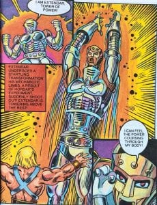 Extendar as he appeared in the Masters of the Universe Mini Comic