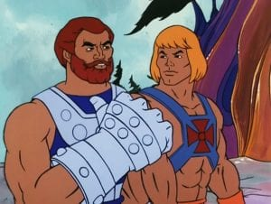 Fisto as he appeared in the Masters of the Universe Cartoon