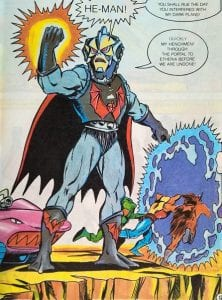 Hordak as he appeared in the Masters of the Universe Mini Comics