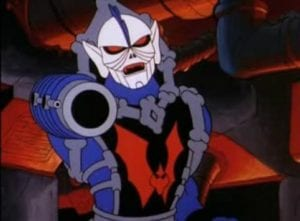 Hordak as he appeared in the original She-Ra and the Princess of Power cartoon