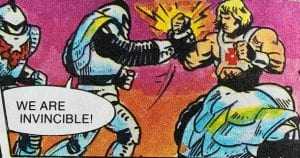 Horde Troopers as they appeared in the Masters of the Universe Mini Comics