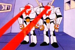 Horde Troopers as they appeared in the She-Ra and the Princess of Power cartoon
