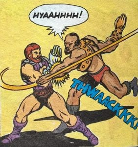 Jitsu as he appeared in the Masters of the Universe Mini Comic