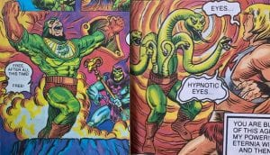 King Hiss as he appeared in the Masters of the Universe mini comics