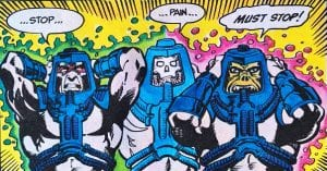 Man-E-Faces as he appeared in the Masters of the Universe Mini Comic