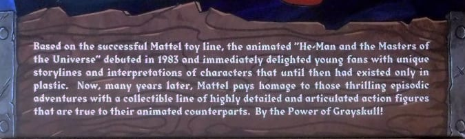 Beast Man's Filmation Super7 Masters of the Universe bio