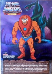 Beast Man Filmation Super7 Masters of the Universe Back Box Art and Bio