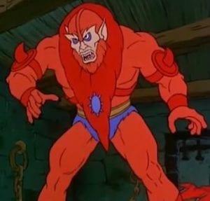 Beast Man Masters of the Universe Cartoon