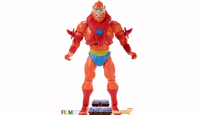 Beast Man action figure from the Filmation Super7 Masters of the Universe toy line.