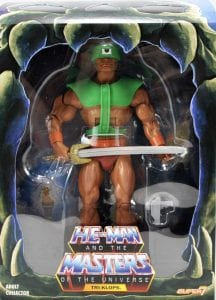 Tri-Klops Filmation Super7 Masters of the Universe Box Front