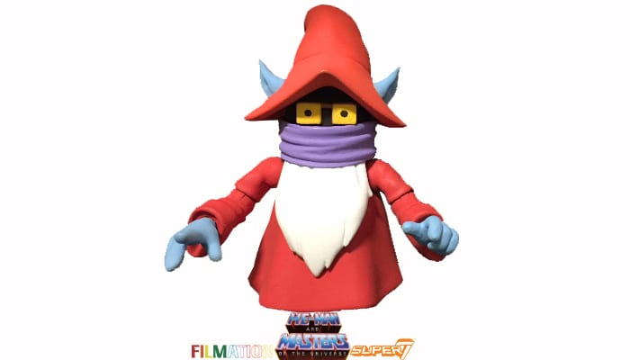 Uncle Montork action figure from the Filmation Super7 Masters of the Universe toy line and was available only through Power Con 2018.