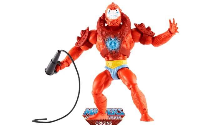 Beast Man action figure from the Masters of the Universe Origins toy line.