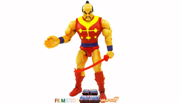 Chopper (Jitsu) action figure from the Filmation Super7 Masters of the Universe toy line.