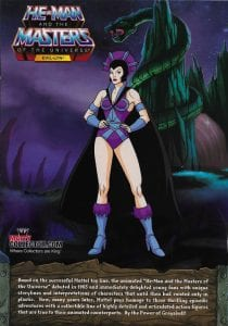 Evil-Lyn Filmation Super7 Masters of the Universe Box Back