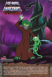 Evil Seed Filmation Super7 Masters of the Universe Box Back