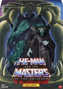 Evil Seed Filmation Super7 Masters of the Universe Box Front