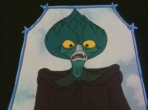 Evil Seed as he appeared in the Masters of the Universe Cartoon