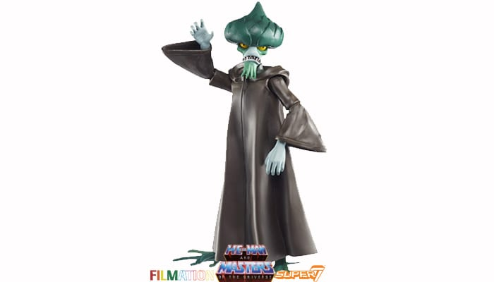 Evil Seed action figure from the Filmation Super7 Masters of the Universe toy line.
