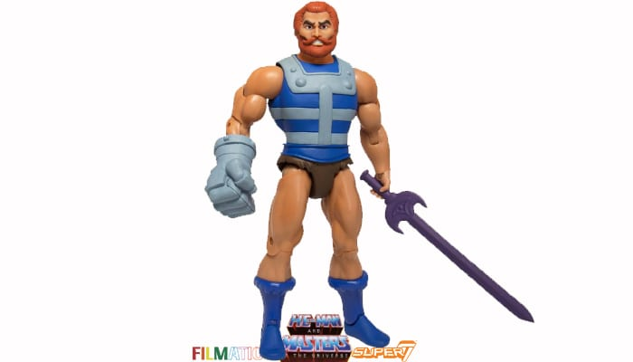 Fisto action figure from the Filmation Super7 Masters of the Universe toy line.