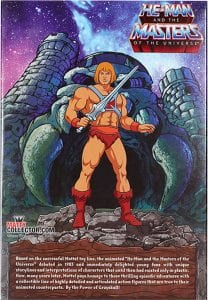 He-Man Filmation Super7 Masters of the Universe Box Back