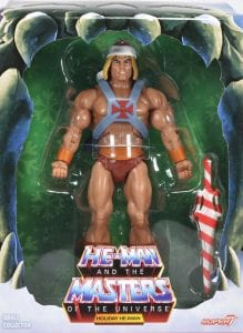 Holiday He-Man Filmation Super7 Masters of the Universe Box Front