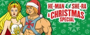 He-Man as he appeared in the He-Man and She-Ra Christmas special