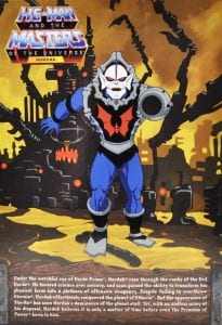 Hordak Filmation Super7 Masters of the Universe Box Back
