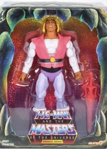 Laughing Prince Adam Filmation Super7 Box Front
