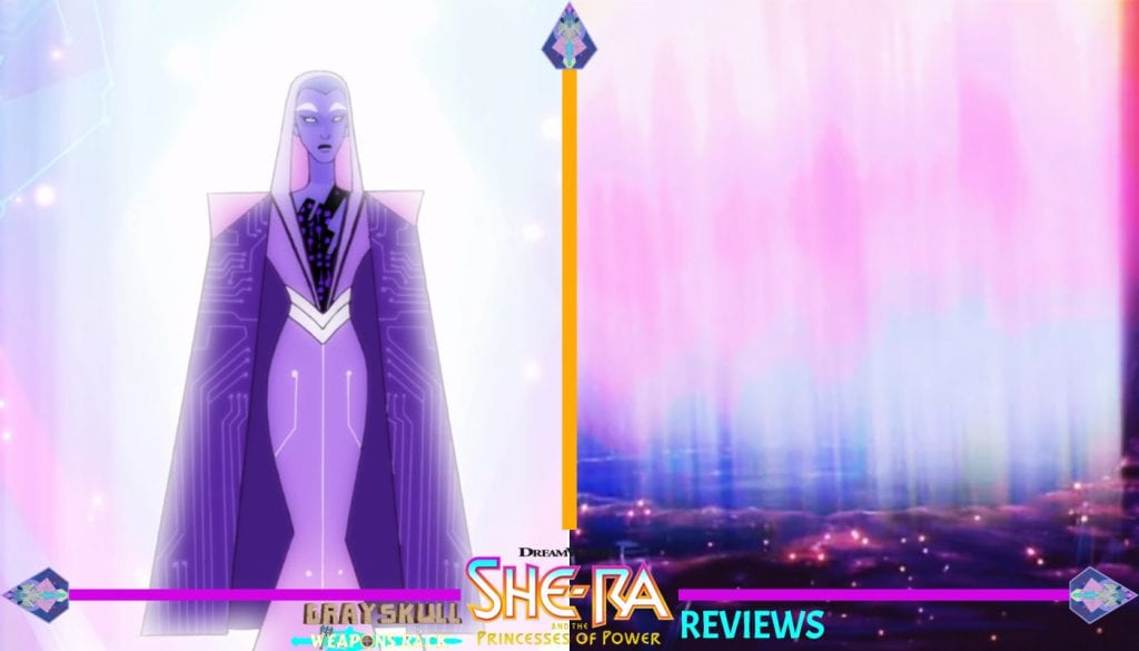 Light Hope as she appears in the Dreamorks Netflix series vs. Light Hope as he appears in the 1980's Filmation cartoon