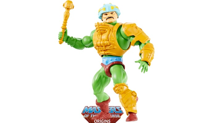Man-At-Arms action figure from the Masters of the Universe Origins toy line.
