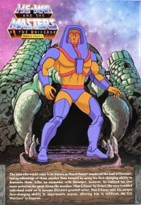Filmation Super7 Masters of the Universe Box Back