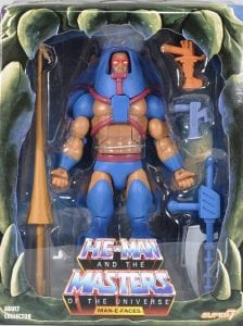 Man-E-Faces Filmation Super7 Masters of the Universe Box Front