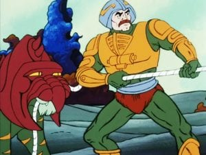 Man-At-Arms as he appeared in the Masters of the Universe Cartoon