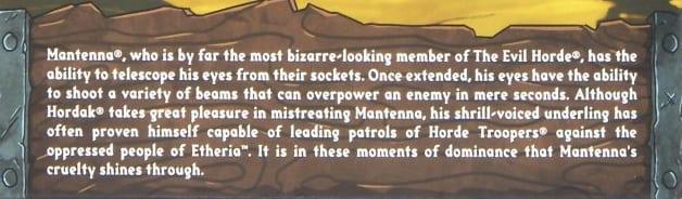 Mantenna Filmation Super7 Masters of the Universe Bio