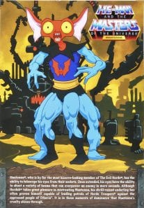 Mantenna Filmation Super7 Masters of the Universe Box Back