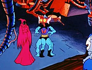 Mantenna as he appeared in the She-Ra and the Princess of Power Cartoon
