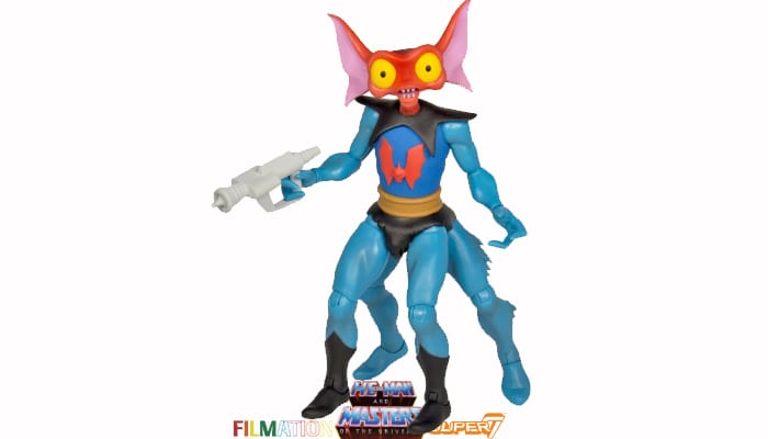 Mantenna action figure from the Filmation Super7 Masters of the Universe toy line.