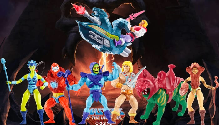 Masters of the Universe Origins Toy Line