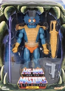 Mer-Man Filmation Super7 Masters of the Universe Box Front