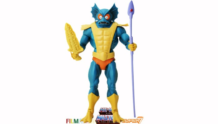 Mer-Man action figure from the Filmation Super7 Masters of the Universe toy line.