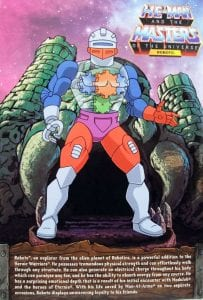 Prince Adam Filmation Super7 Masters of the Universe Box Back