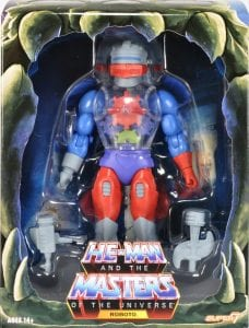 Prince Adam Filmation Super7 Masters of the Universe Box Front