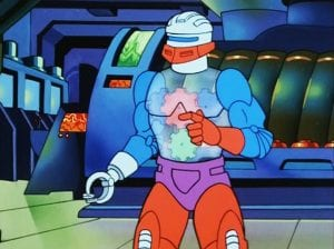 Roboto as he appeared in the Masters of the Universe Cartoon