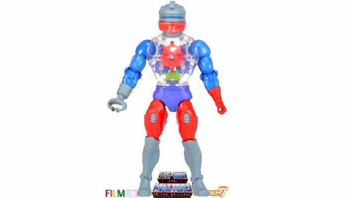 Roboto action figure from the Filmation Super7 Masters of the Universe toy line.