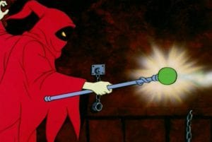 Magic Wand as it appeared in the She-Ra and the Princess of Power cartoon