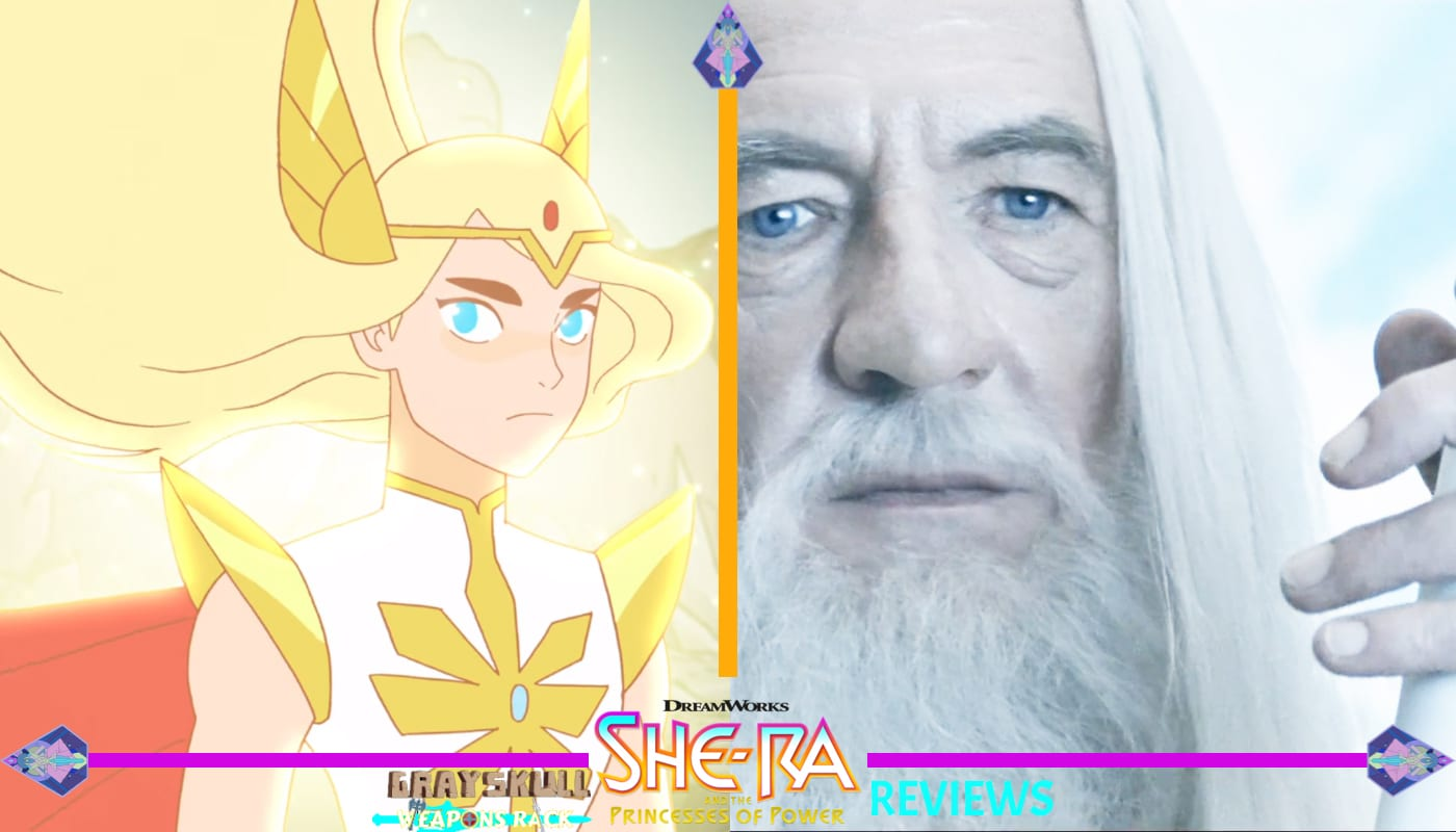 She-Ra and Gandalf the White Comparison
